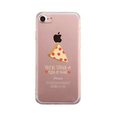 Pizza My Heart Funny Phone Case Cute Clear Phonecase