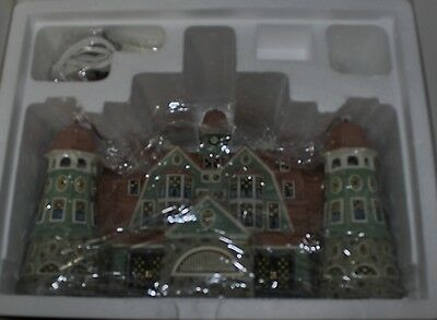 Department 56 Seasons Bay Grandview Shores Hotel NIB