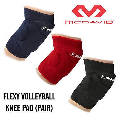 McDAVID flexy volleyball knee pads [red]-X-Small