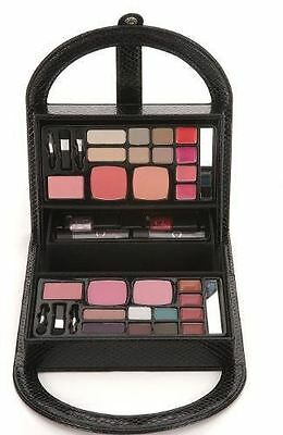Body Collection Make-Up Set Black Hamdbag Purse Gift New