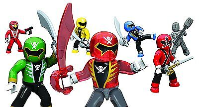 Mega Bloks Power Rangers Super Force Micro Action Figures 1 x Mystery Figure