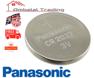 6 Panasonic CR2032 CR 2032 Lithium Coin Cell 3V Car Key fob battery remote watch