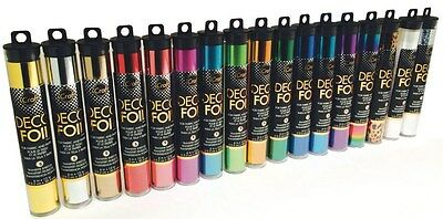 iCRAFT 'DECO FOIL' Transfer sheets Therm-o-web (Choose from 17 Colours) Craft