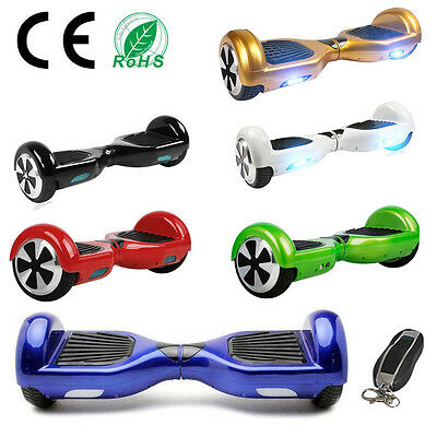"6,5"" 2 Roues Self Balance Board Balance Scooter Gyropode Skateboard électrique"