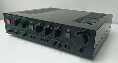 Yamaha C-4 Stereo Control preamplifier with great Phono stage