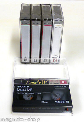 Lot 5 cassettes VIDEO 8 SONY P5-30MP (mix)