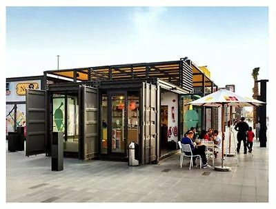 Modular Container House Office shop for Customization,price for 1 square meter