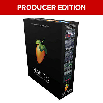 Image Line FL Studio 20 Producer Edition Digital Audio Workstation Windows *New*