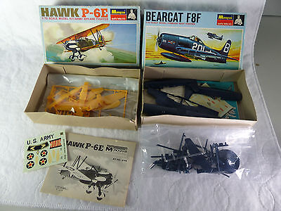 Monogram Bearcraft F8F + Hawk P-6E  Bausätze / Kits  1/72