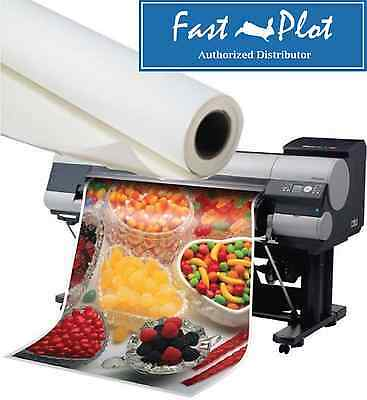 "SHIPPED FREE - Poly-Vinyl Banner Roll Waterproof - 24"" x100FT -Inkjet printing"