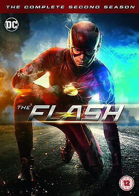 The Flash Complete Season 2 Dvd New Sealed Boxset Free Post Region 2
