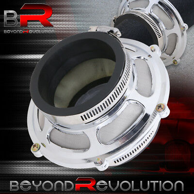 "For Honda 3"" Engine Air Intake Pipe By Pass Valve Dry Cone Mesh Filter Sl+ Clamp"
