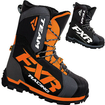 FXR Racing Team Core Mens Snowboard Skiing Sled Snowmobile Boots