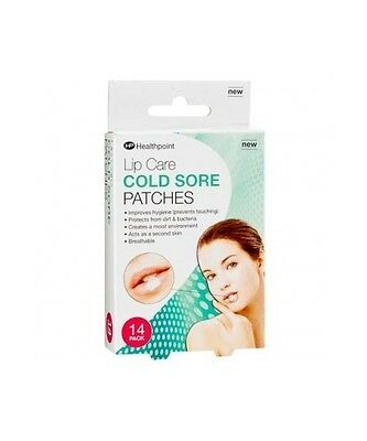 Lip Care Cold Sore Patches Invisible Breathable 14 pack