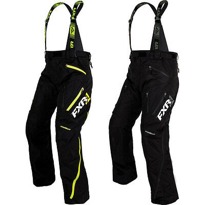 FXR Renegade X Insulated Mens Sled Skiing Snowboarding Snowmobile Pants