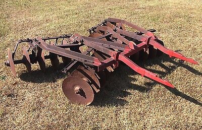 IH McCormick 2pt Hitch Super C-36 Disk Harrow Disc International Farmall 200 240