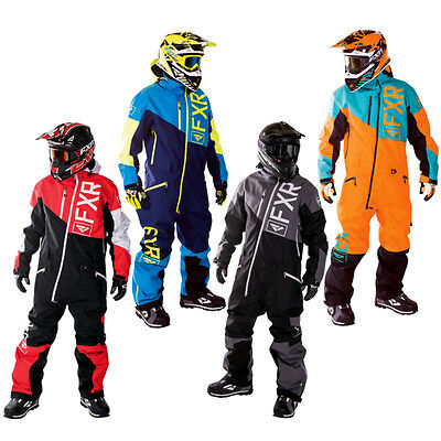 FXR Squadron Insulated Mens Sled Skiing Snowboard Snowmobile Monosuit
