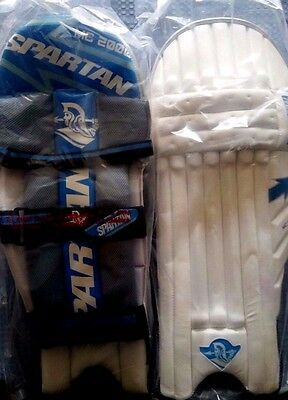 Spartan Cricket Mc 2000 Batting Right Hand Youth's Pads R.r.p $119.99