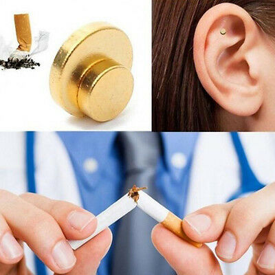 Hot Quit Smoking Stop Smoke Auricular Ear Magnet Therapy Weight Loss Acupressure
