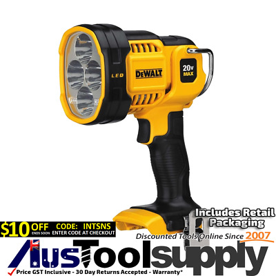 Dewalt Xr 18V / 20V Max Cordless 1000 Lumen Led Torch Spot Light  Dcl043