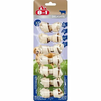 8in1 Friandise chien Delights Beef XS