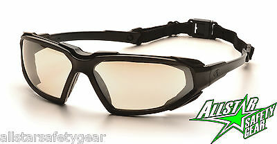 Pyramex Highlander Clear Mirror Anti Fog Safety Gasket Goggles Sbb5080Dt