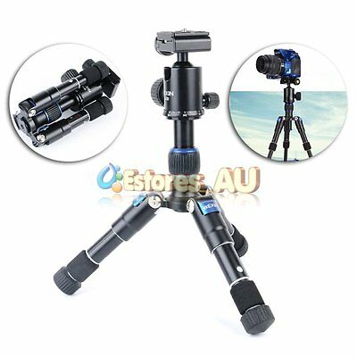 BEXIN Travel Portable Mini Tripod Stand+ V30 Ball Head For Camcorder DSLR Camera