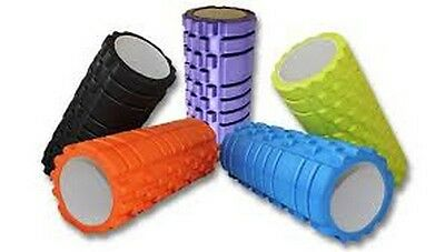 New HardCore Quality Muscle Foam Roller- For Physio Trigger Massage Yoga Pilates