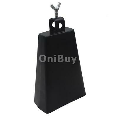 "Professional 7 ""Cowbell pour Drum Set Percussion Cloche de vache w / Clamp"