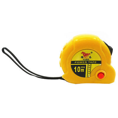 Tape measure with Automatic retractor double Operation, Measuring 10m/33ft