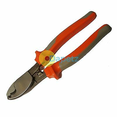 """Heavy Duty 8"""" Wire Cutters Cable Cut Stripper Copper Fencing Electrician DIY"""