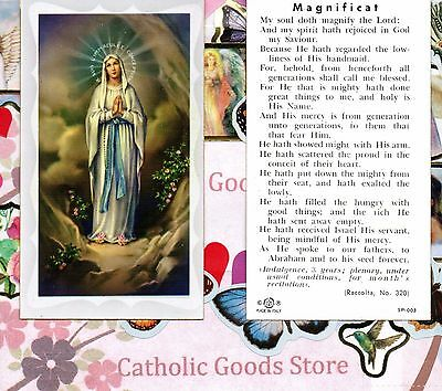 Magnificat - Paperstock Holy Card