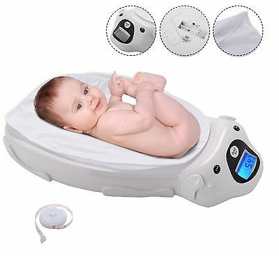 Baby Weight Scale Digital Infant Toddler Electronic Health Grow Meter Veterinary