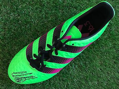 Moussa Dembele Hand Signed Football Boot Celtic Proof.