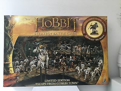 Hobbit - Escape From Goblin Town - Limited  Edition Strategy Battle Game Bnib