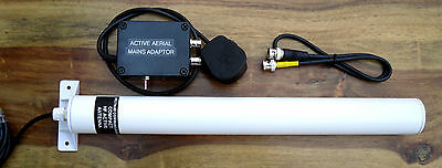 Spectrum Compact Active Antenna (Mains) 680kHz - 28MHz.  Made in Dorset UK.