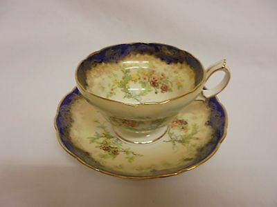 Hammersley & Co Fine Bone China Cup And Saucer Vintage 13503