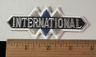 "Vintage International Trucks  Service Embroidered Patch 4 "" X 2"""
