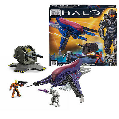 Orbital Banshee Blitz Halo Megabloks Building Blocks Bricks 204 pieces | 97010