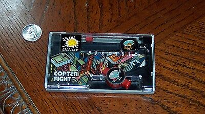 Vintage Rare COPTER FIGHT TOMY Hand held game 1987