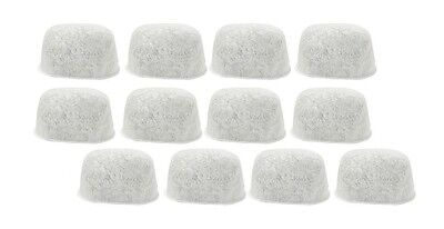 12 Pack Breville Replacement Charcoal Water Filters BWF100 White