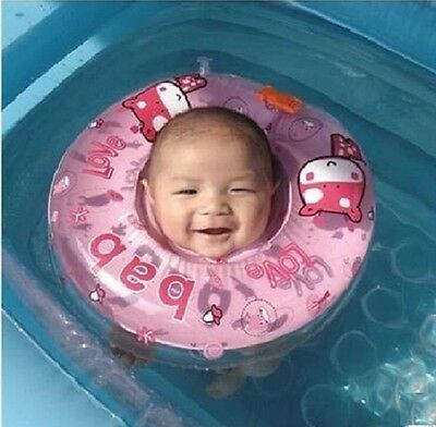 New Safety Baby Neck Float Infant Ring Toy Circle Nflatable Ring Swimming Pool