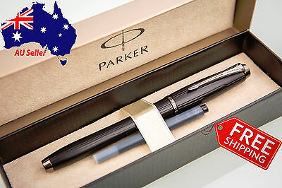 PARKER Urban Premium Luxury Matte Black Fountain Pen, with box and refill