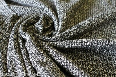 X1524 coupon tissu haute couture lainage tweed pour for Coupon haute couture