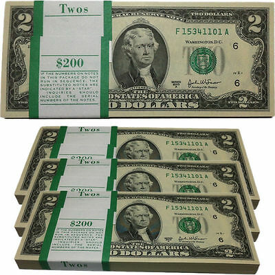 Great Condition USA Two Dollar Bill ~ Circulated United States Currency $2 Note