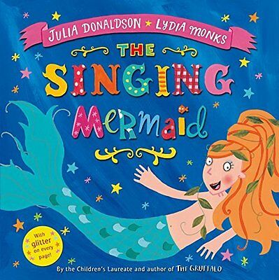 BOOK : The Singing Mermaid by Julia Donaldson Paperback New