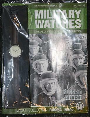 Military Watches Issue 16 1950's Russian Airman - Mag & Watch NEW SEALED