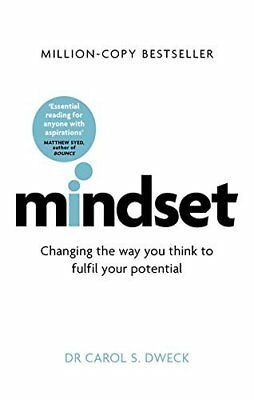 Mindset How You Can Fulfil Your Potential - PB Book - Brand New