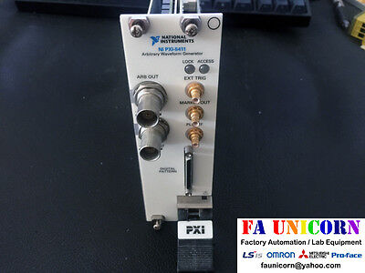 [National Instruments] NI PXI-5411 Arbitrary Waveform Genera USED Good condition