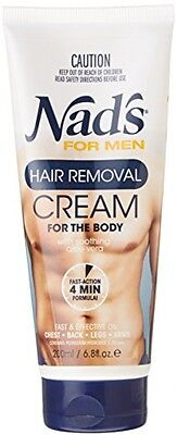 Nad's For Men Hair Removal Cream - 200 Ml NEW